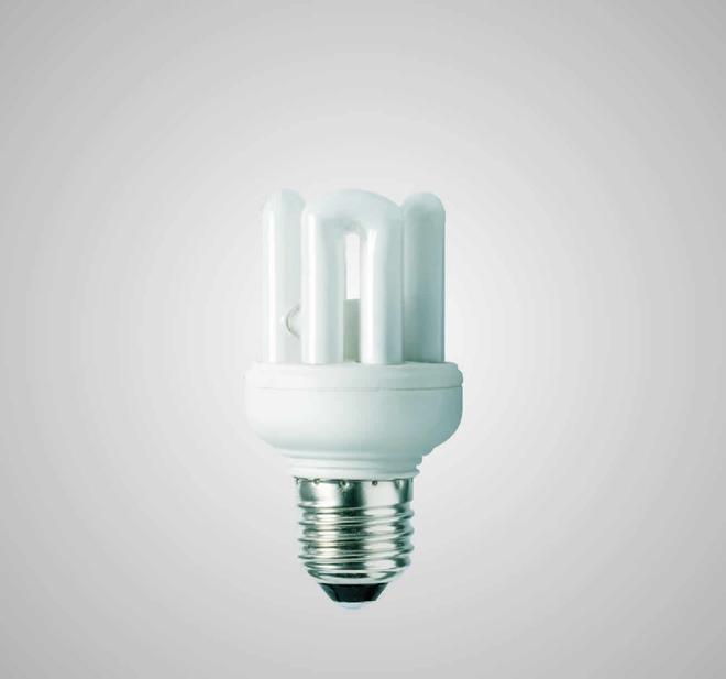 Úsporná kompaktní zářivka ECOLINES (ECO-4 9W)