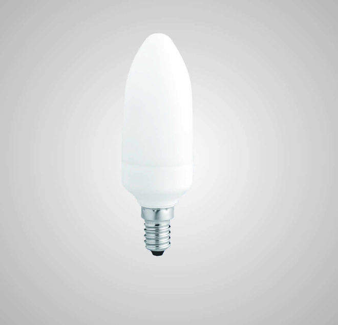 Úsporná kompaktní zářivka ECOLINES (ECO-C 7W)