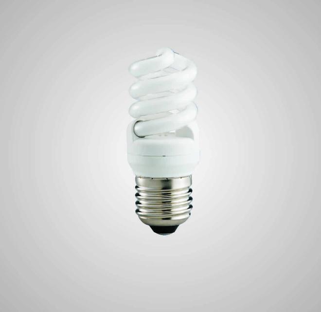 Úsporná kompaktní zářivka ECOLINES (ECO-S 9W)