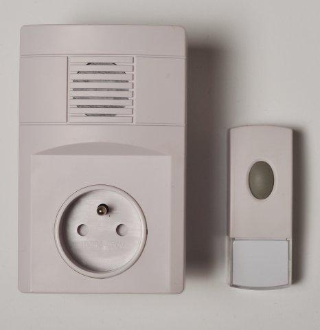 Bezdrátový domovní zvonek do zásuvky SC308